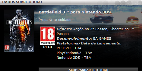 Battlefield 3 podría llegar a Nintendo 3ds | Goomberto Opina