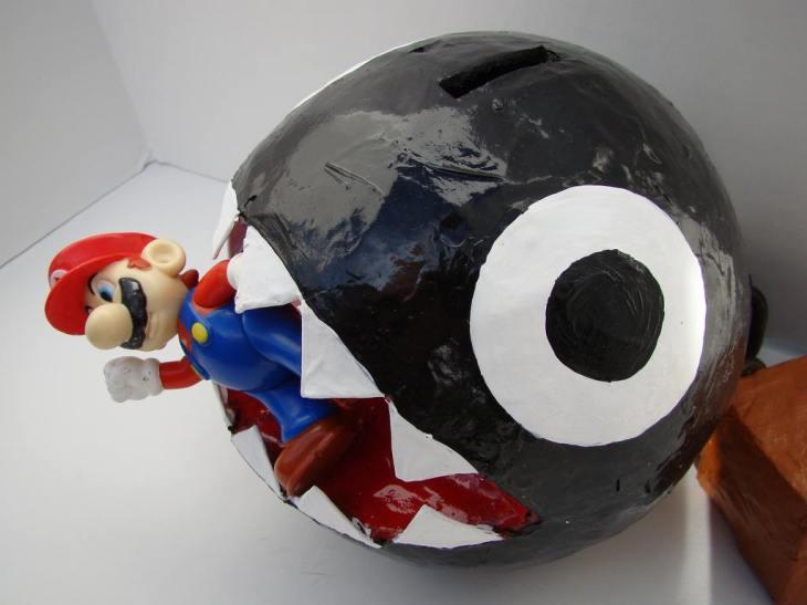 Ahora imaginen que el Chain Chop es real y ustedes son Mario Bros
