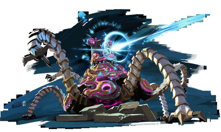 1: Uno de los monstros que encontraremos en Hyrule. Esto es solo el principio de muchos que gozaremos destruir.