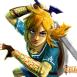 4: Link se ve maduro en el titulo. ¿Quizá viaje por el tiempo cuando era niño?